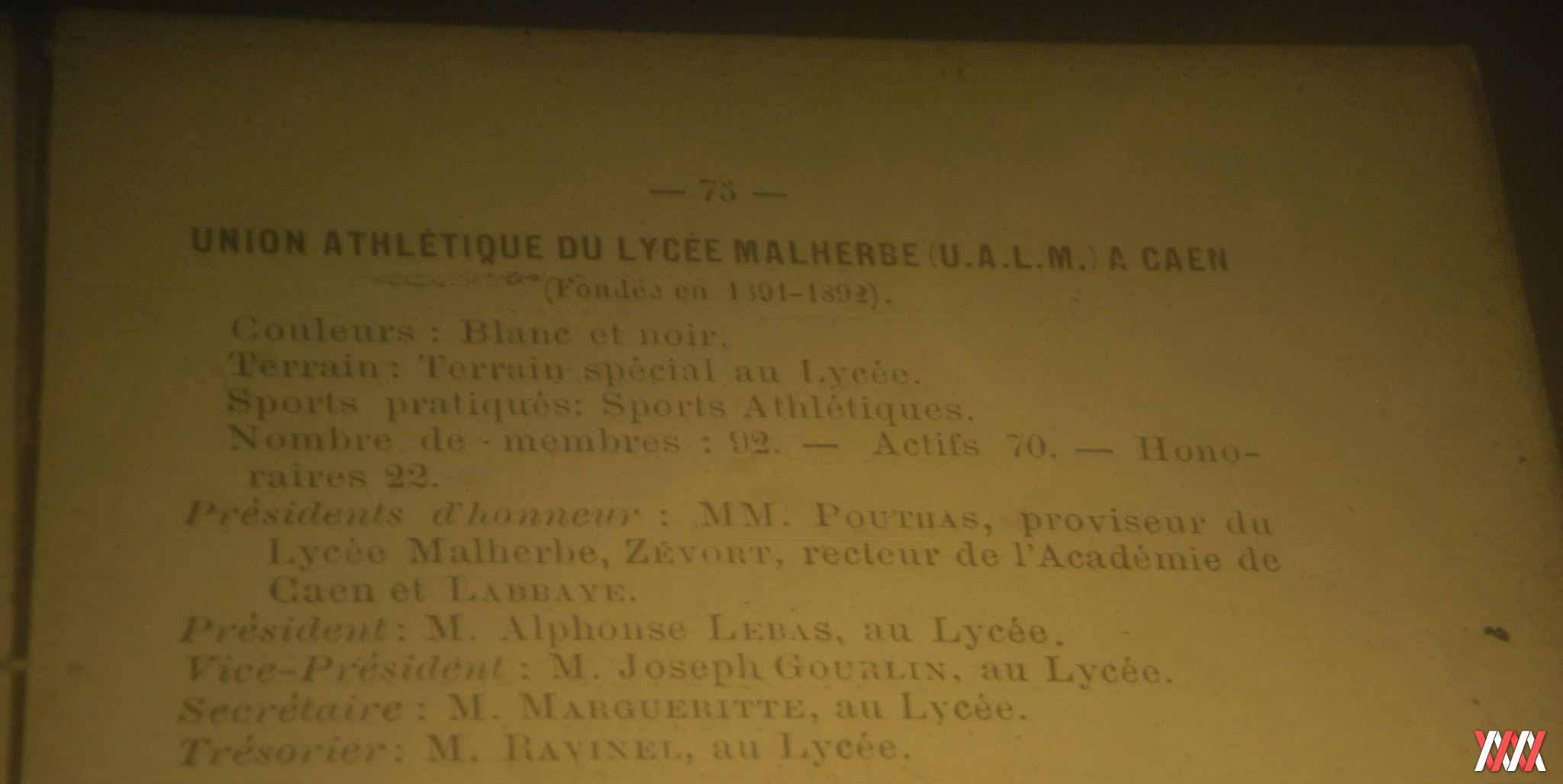 annuaire USFSA 1895