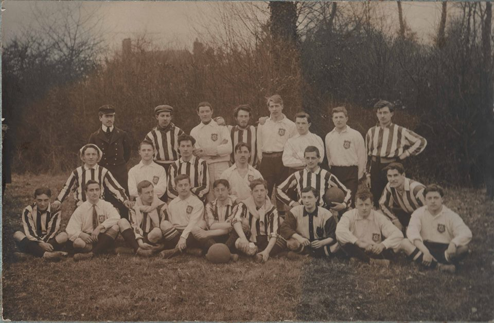 15 décembre 1907 : CMC-SC Bernay, au camp de Cormelles (11-0).