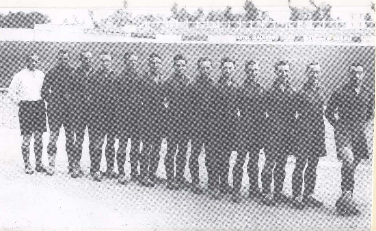 l'équipe du SMC en 1934
