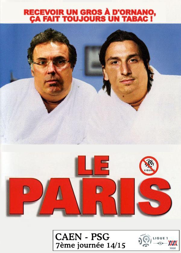 Caen - PSG