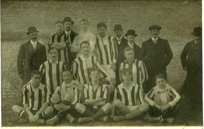 Club Malherbe Caennais champion 1912