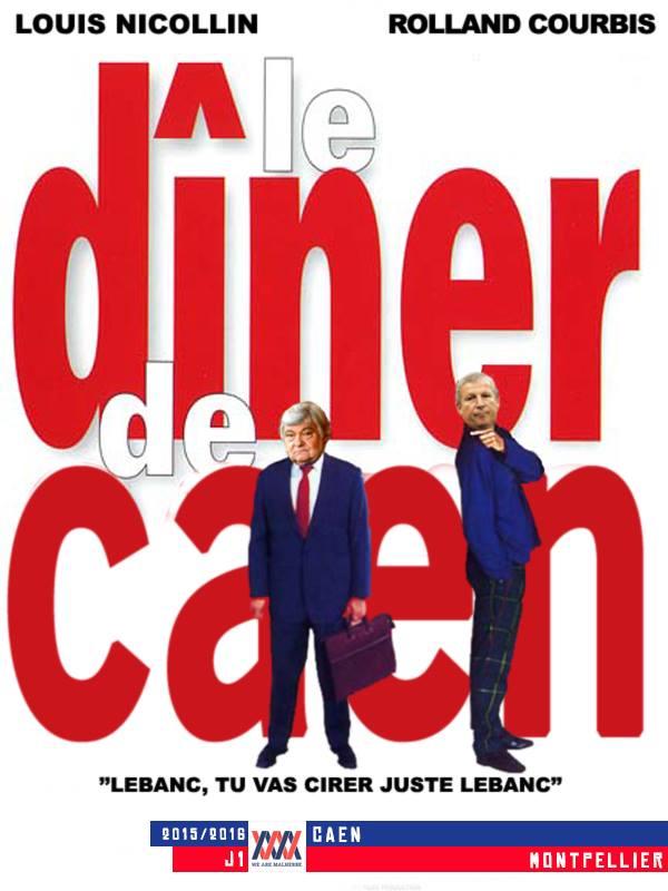 Caen - Montpellier