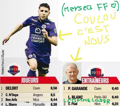 Toi aussi comme Andy Delort, découpe les petits articles de France Football.
