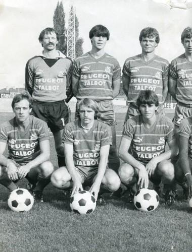 Alain Douville (en haut à gauche)