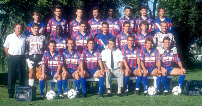 Effectif Caen 92/93