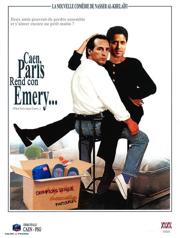 Caen-PSG (Demi-finale)