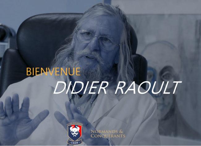 Bienvenue Didier Raoult