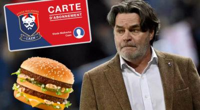 Fabrice Clément rembourse en Big Mac