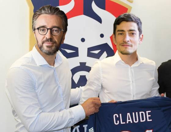 Claude Koh Lanta signe à Caen